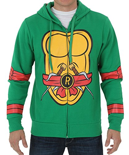 Teenage Mutant Ninja Turtles I Am Raphael Costume Zip Hoodie Size Medium Color Raphael (Teenage Mutant Ninja Turtle Raphael Adult Mask)