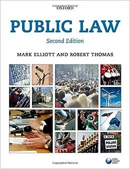 Book Public Law 2e (Blackstone's Statues Series)