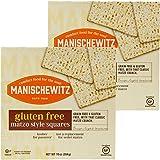 Manischewitz Matzos All Natural Gluten-Free Kosher For Passover, Matzo Style Squares (2-Pack)