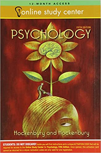 Discovering psychology, 5th edition by sandra e. Hockenbury, don h.