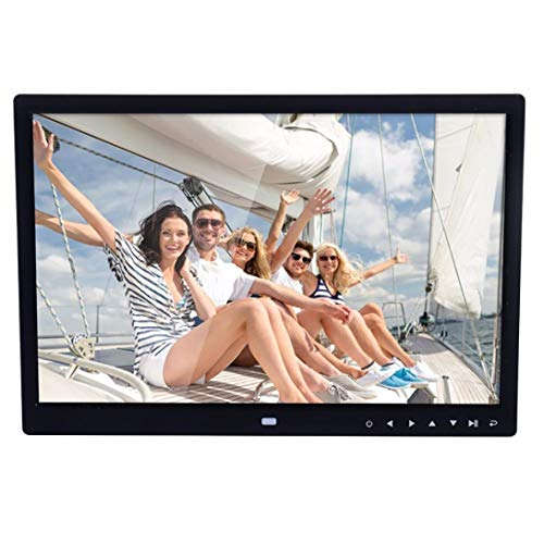 OUFENLI 15-Inch Hi-Res Motion Sensor Ultra-thin Digital Photo Frame With Multimedia Playback (A)