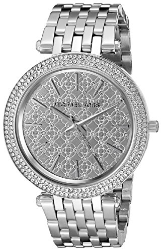 Michael Kors Women's Darci Silver-Tone-Tone Watch MK3404
