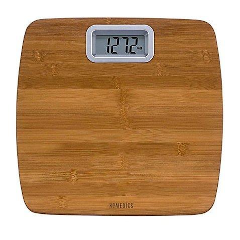 HoMedics Bamboo Digital Bathroom Scale by Homedics