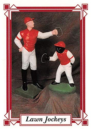 Lawn Jockeys trading card (Horse Racing) 1995 Jockey Star #2