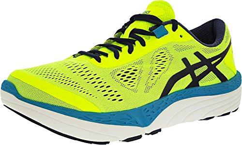 Asics Men's 33 M 2 Running Shoe - Safety Yellow/Blueprint...