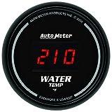 Auto Meter 6337 Sport Comp Digita 2-1/16'' 0-300 F Digital Water Temperature Gauge
