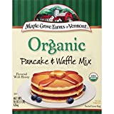 Maple Grove Farms Pancake & Waffle Mix, Organic, 16 Ounce