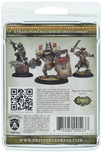Privateer Press - Warmachine - Mercenary: Anastasia Di Bray Model Kit 4