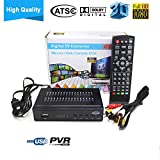 Digital TV Converter Full HD ATSC TV Receiver Tuner for Analog TV, Supports Recording PVR Function MPEG4 H.264 and Sleep Timer (Hot Sale in USA/Canada/Mexico)