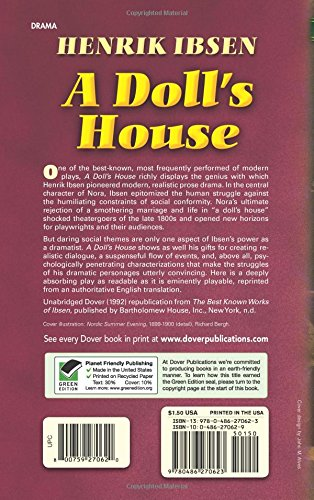 essay a dolls house nora Everything you ever wanted to know about nora helmer in a doll's house, written by masters of this stuff just for you.