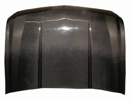 VIS Racing 07CHSUB4DOE-010C - Chevrolet Suburban 4Dr Oem Carbon Fiber Hood 4dr Oem Carbon Fiber Hood