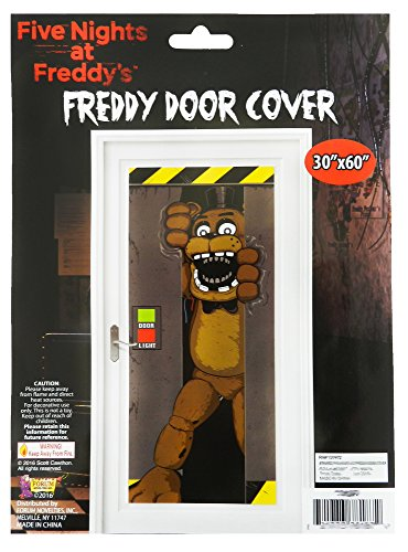 Forum Novelties Five Nights At Freddy's Door Cover