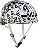 Black White Bell Bike Helmet Maniac Child's Ages 5+