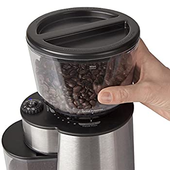 Mr. Coffee Automatic Burr Mill Grinder With 18 Custom Grinds, Silver, Bmh23-rb-1 3