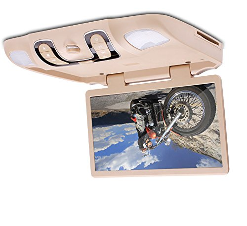 "Ouku 15.6"" HD Roof Mount Overhead Ceiling Car DVD Player Fli"