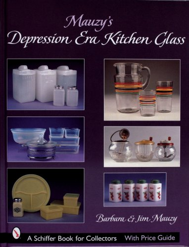 Pink Depression Era Glass (Mauzy's Depression Era Kitchen Glass)