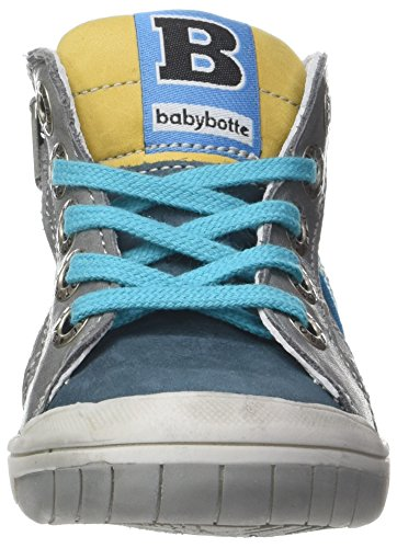 babybotte Artistreet, Zapatillas Altas para Niños Bleu (Canard)