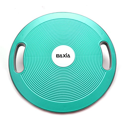 BAXIA TECHNOLOGY Wobble Balance Board Balance Training Home Fitness Workouts, Round & Plastic by BAXIA TECHNOLOGY