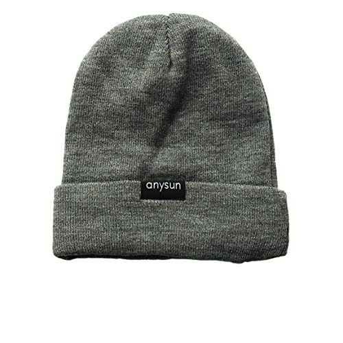 Anysun Satin-Lined Winter Beanie (Gray) ()