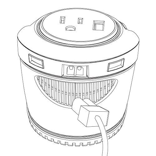 power bright 180 watt cup inverter  car 12v dc to ac power