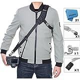Camera Strap Rapid Fire Shoulder Neck Strap Sling Belt Quick Release and Safety