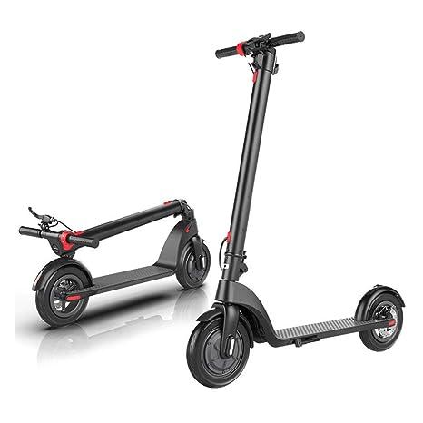 H_y Plegable para Adultos Scooter eléctrico, Caja Doble ...
