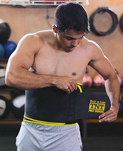 7b54b9eed1 TNT Pro Series Waist Trimmer Weight Loss Ab Belt - Premium Stomach Fat  Burner Wrap Waist