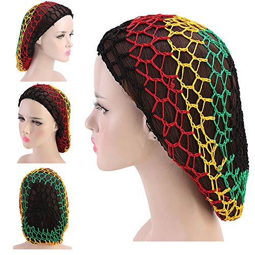 Women's Vintage Full Head Crochet Hair Net Snood Sleep for sale  Delivered anywhere in USA