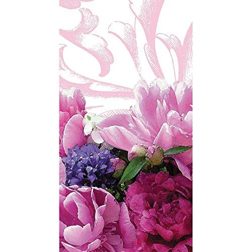 Club Pack of 24 Peony Bloom Floral Printed Hanky Swankies...