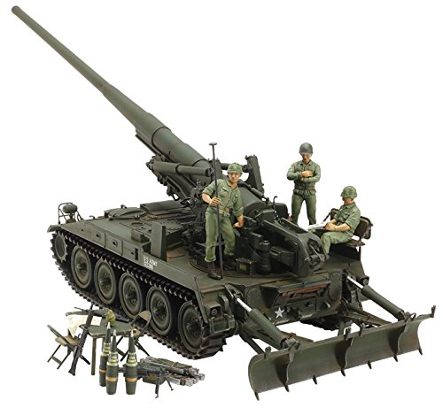 (Tamiya America, Inc 1 35 U.S. Self-Propelled Gun M107 (Vietnam War), TAM37021)