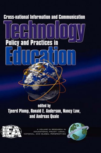Cross-National Information and Communication Technology Polices and Practices in Education (Hc) (Research in Educational Policy) PDF