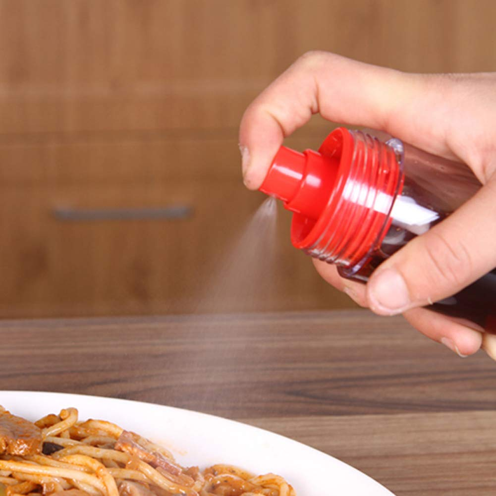 omufipw 1pc 2 en 1 profesi/ón cocina aceite vinagre dispensador botella pulverizador