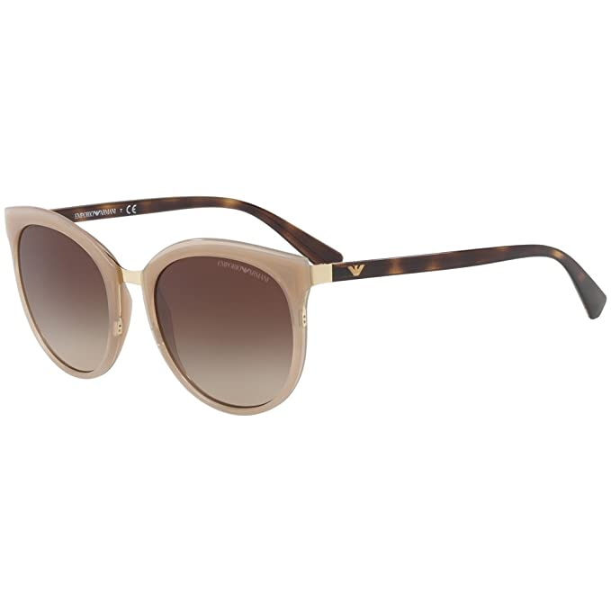 Emporio Armani 0ea2055 301313 55, Gafas de Sol para Mujer, Opal Turtledove