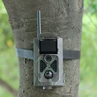 OTSC SUNTEK HC-500M Game And Hunting Camera Infrared Digital Trail Scouting Wildlife Camera with 12MP 1080p HD Video 2G GPRS MMS for Hunting Monitor Night Vision