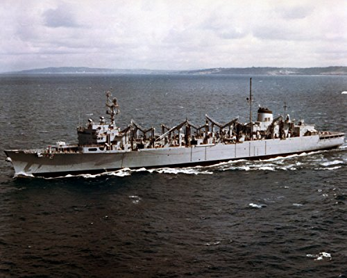 The U.S. Navy fast combat support ship USS Camden (AOE-2) underway in November 1986. Fast Combat Support Ships