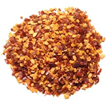 Red Pepper Flakes - 1/4 Pound  (4 Ounces ) - Crushed Red Chili 40K Units Heat