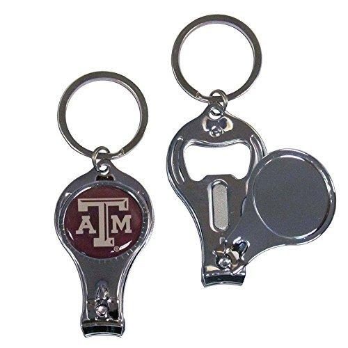 Siskiyou NCAA Texas A&M Aggies Nail Care/Bottle Opener Key Chain