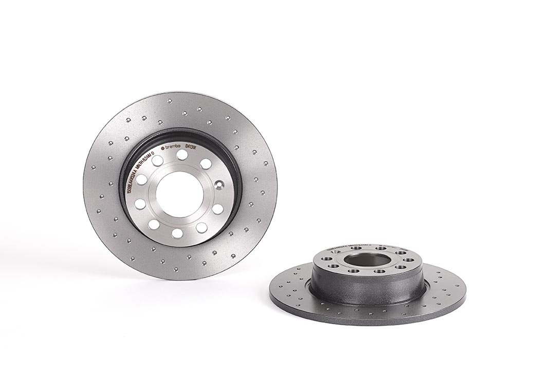 BREMBO 08.B413.1X Brake Disc Rotors, Set of 2 AUTOSTARTER