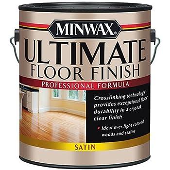Minwax 131030000 Ultimate Floor Finish, 1 gallon, Satin