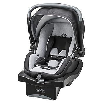 Image of Baby Evenflo LiteMax 35 Platinum Infant Car Seat, Moonlight