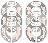 Mumsy Goose Nursery Closet Dividers Closet Organizers Baby Girl Clothes Dividers Llamas