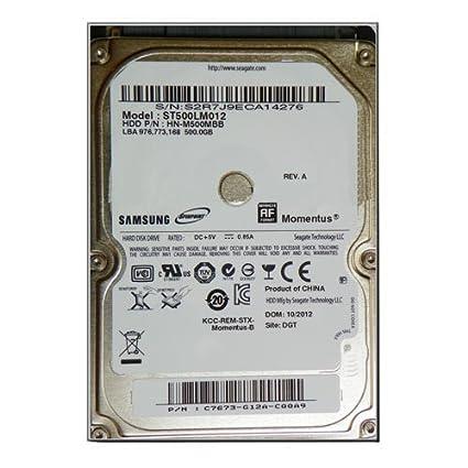 """Samsung ST500LM012 500GB 5400RPM 8MB SATA 2.5/"""" Laptop Hard Drive"""