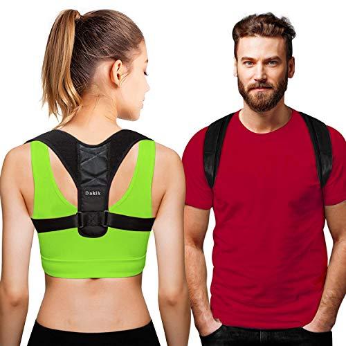 - DAKIK Posture Corrector for Women & Men - Effective Comfortable Adjustable Posture Correct Brace - Posture Support - Back Brace - Kyphosis Brace