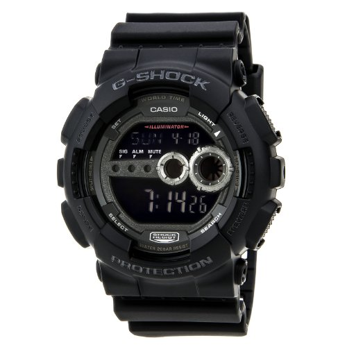 Casio-Mens-GD100-1BCR-G-Shock-X-Large-Black-Multi-Functional-Digital-Sport-Watch