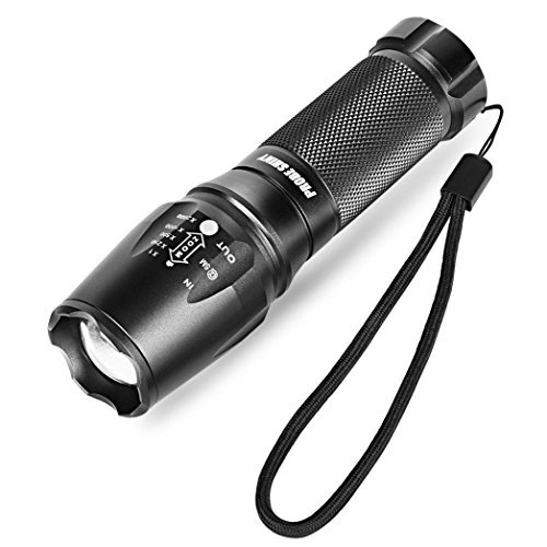 Flashlight,Howstar 5 Modes X800 T6 LED Zoom Flashlight Torch Zoom Lamp Super Light Shadowhawk