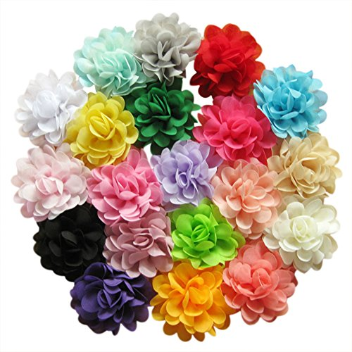 Make Fabric Flower (Ademoo 20 Colors 2.8