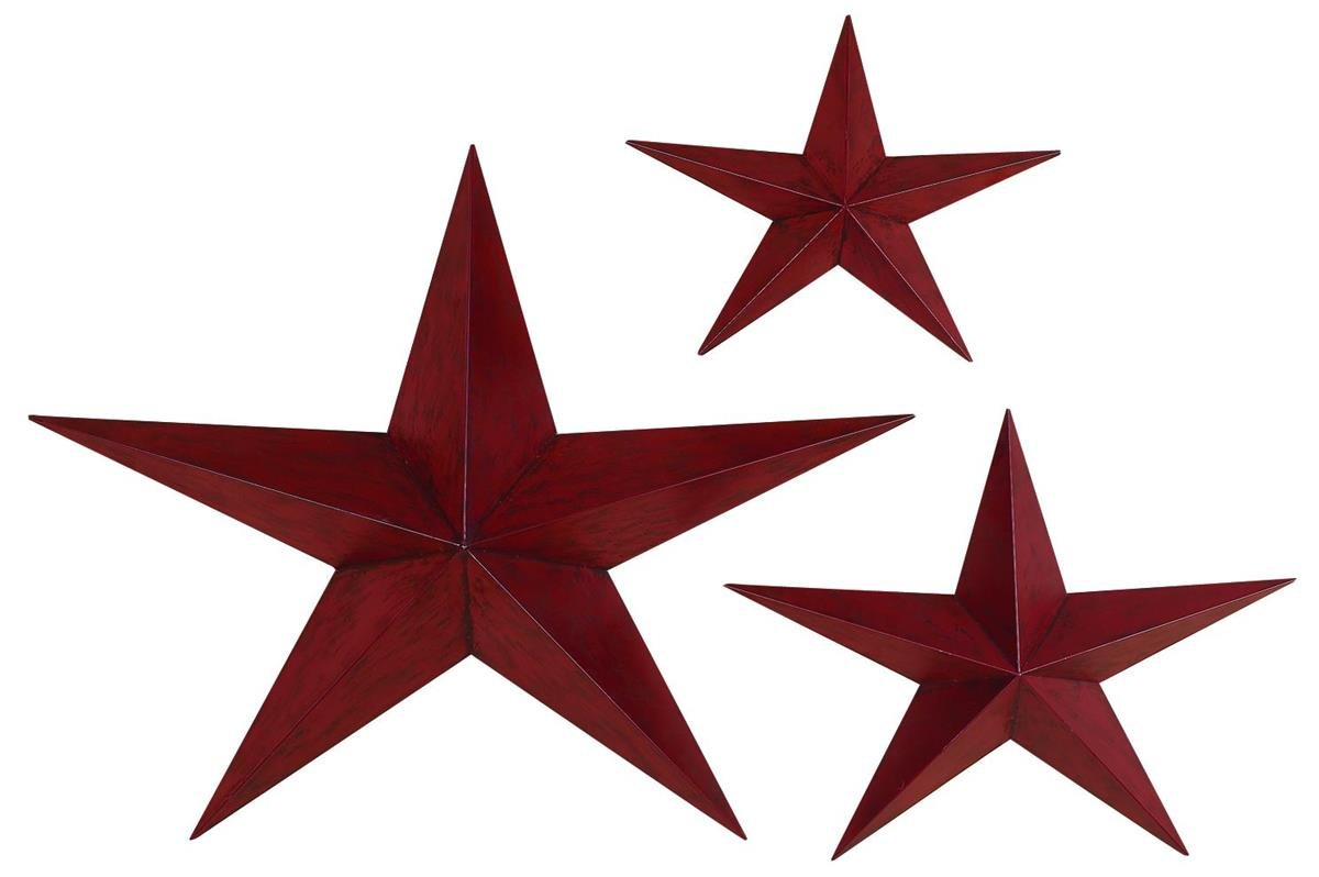 Delicieux Amazon.com: Deco 79 Metal, Star 36 Inch, 24 Inch And 18 Inch, Set Of 3:  Home U0026 Kitchen