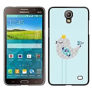 Stuss Case / Funda Carcasa protectora - Lindo soñoliento Art Dibujo Polígono; - Samsung Galaxy Mega 2