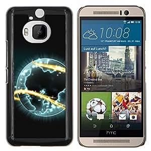 Be-Star Único Patrón Plástico Duro Fundas Cover Cubre Hard Case Cover Para HTC One M9+ / M9 Plus (Not M9) ( Galassia Stelle 35 )