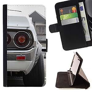 Momo Phone Case / Flip Funda de Cuero Case Cover - Blanca Datsun;;;;;;;; - Apple Iphone 6 PLUS 5.5